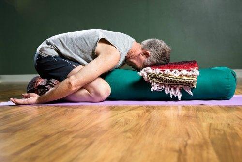 Childs Pose Yoga BoomAthens