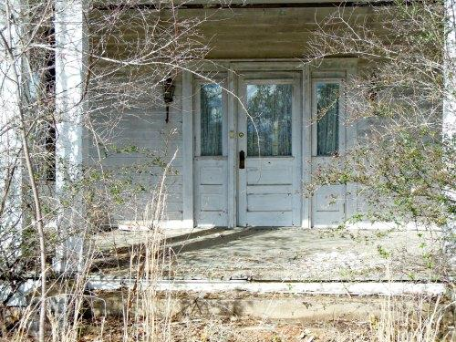 Retirement House - overgrown porch