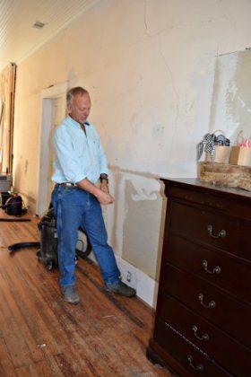 Retirement House - remodel plaster