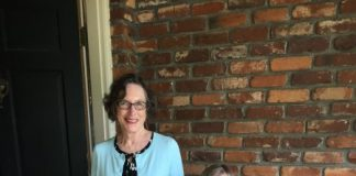 Diane Wahlers and grandchild Eliza Wahlers
