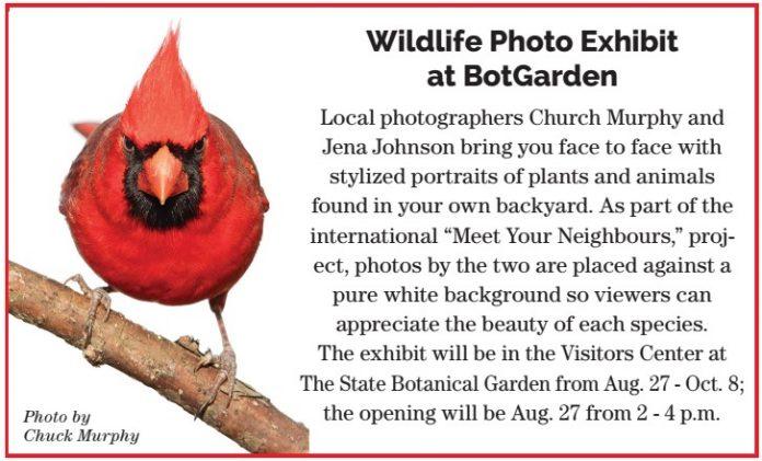 Wildlife Photo Exhibit