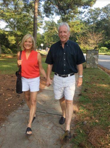 Walking around Athens GA