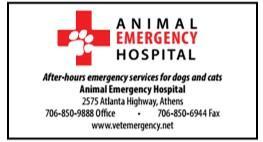 Animal Emergency Hospital Athens GA