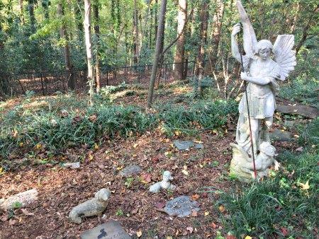Backyard Pet Cemetery