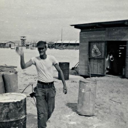 Vietnam War Soldier Seabees 1967