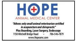 HOPE Animal Medical Center Athens GA