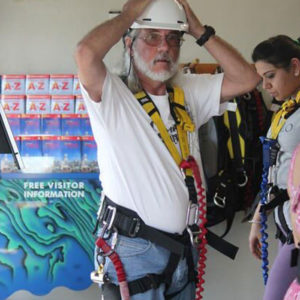 Bungy Jumping Suiting Up