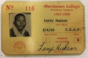 Larry Hudson College ID Card