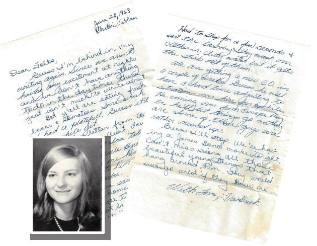 Letters From a Vietnam Soldier to His Sister Back Home