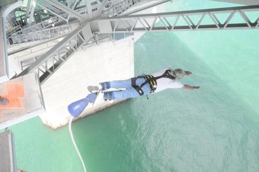 Bungy Jumping at 66 Years Old