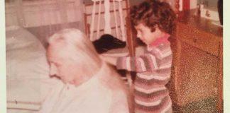 Brushing Nannas Hair