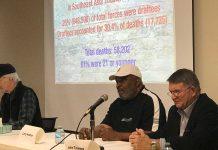 John Bleyle, Larry Hudson, John Timmons at Athens Regional Library
