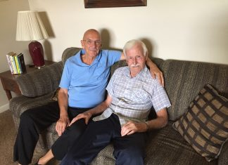 Frank Scott and Al Nettleton