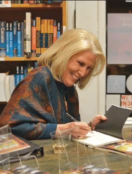 Clela Reed at recent book signing.