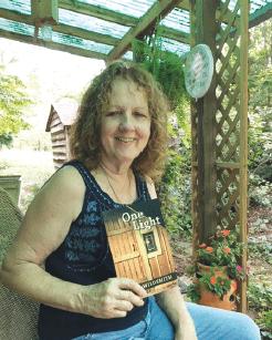 Dana Wildsmith on her historic front porch