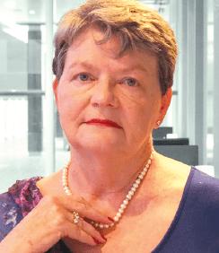 Mystery writer Sheila Hudson advocates networking.